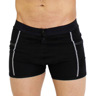 Black Boxer Briefs with Pockets