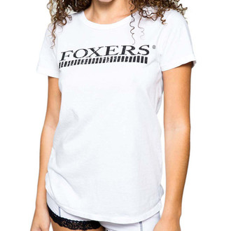 Comfortable White T-shirt with Foxers logo