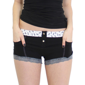 Women's Black Boxer Briefs with Pockets
