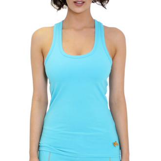 Turquoise Blue Tank Top for Women