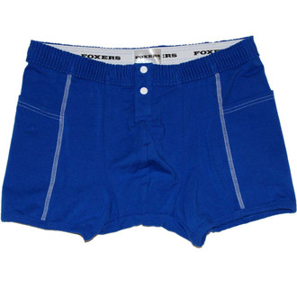 Men's Royal Blue Boxer Brief with Side Pockets