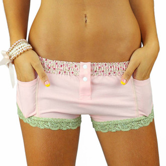 Pink Boxer Briefs for Girls