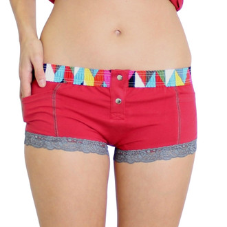 Papaya Boxer Brief Kaleidoscope FOXERS Band