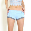 Light Blue Women's Boxer Briefs