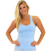 Light Blue Racer Back Bra Tank Top