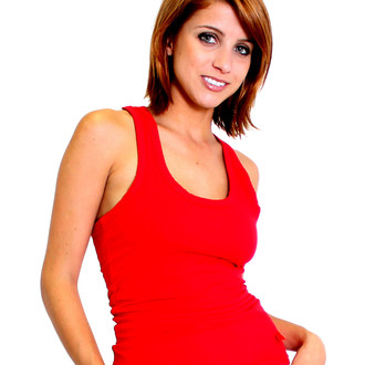 Women's Red Racerback Tank Top
