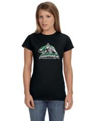 Calderstone Gildan Softstyle® 4.5 oz. Women's T-Shirt - Black
