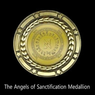 The Angels of Sanctification Medallion        For years our clients have asked for a tool that can the body and soul while at the same time protecting it from outside curse, attaching spirits, and negative forces.  Admittedly, this is a tall order.  We have several protective tools, but none of them performed all of these functions, until now.  On one of my recent trips into the spiritual world, I saw a tool that performed all of these functions.  In this aspect of the spiritual world, my function is to protect the human world from higher level demons and destructive forces.   I secured a tool from that world that bears the seal of a number of important protector entities that help this world.  There are a number of angels who are entrusted with the cleansing and purifying power of The Creator.  These angels are called the Angels of Sanctification.    The Angels of Sanctification are of a high-level order of angels. According to the book of Jubilees, they were created on the first day, and are among the most holy beings in existence. The Book of Jubilees states that the angels of sanctification are one of two high orders, along with the Angels of Presence. The Principal angels of sanctification are Phanuel, St. Michael, Metatron, Zagzagael, and Suriel. Their function is not well known in this world, but without their presence, this world would be a bleak place indeed.  When these angels work together through this medallion:     They dissolve negative karma,  Build positive karmic forces within the body,  Heal negative events in the past and the future,  Protect from hexes and curses,  Prevent attaching spirits from getting into the aura,  Remove demons, negative elementals, and other dark forces  Cleanse negative forces from the soul. (Level One Intensity)     These entities are powerful and they work with the forces of creation on the behalf of humans.  The medallion above when worn, allows these entities to work together for the healing of the wearer.  The medallion also bears the imprint of the Demiurge.  The Demiurge is the most powerful aspect of the Archangel Michael, who is also one of the Angels of Sanctification.   Officially, this is now the most powerful of all our medallions.  It bears the power of the Angels of Sanctification and the Demiurge.   Its Devi Scale Rating is 60.36   Through the power of this medallion, one may enjoy the energy of a continuous Level One Cleansing just by wearing the item.  You may also place it under your pillow in order to receive its benefits.  The medallion is heavy and weighs over 300 grams.  It is designed to do the heavy duty cleansing work that will keep your energy clean.   We advise that you wear this medallion at least one hour per day to clear all negative forces from your system.  You may also place it in a silk pouch and sleep with it under your pillow in order to clear yourself of negative forces while you sleep.  Do not shower with it or get it wet.   Price: $400.00