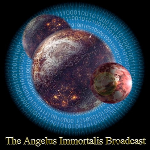 The Angelus Immortal Broadcast     The Immortalis Broadcast is the energy of consciousness that defines the immortal part of your being.  Human consciousness defines only five percent of who you are. There are parts of you that are immortal.  They live in different domains and realities.  They communicate with you and the other parts of yourself. This communication is constant and occurs even when you are asleep.  The brain's immortal network is home to the dormant power of the divine in your body.   The immortal part of your brain is recessive.  The human part of you controls your awareness.  There is a great secret here.  The part of your brain that controls your awareness also controls your mortality. If you can switch this control over to one or more of the higher aspects of your consciousness, you will effectively change your being to that of an immortal. That is the key.    You become that which controls you.   Each of us has a powerful divine being that controls most of who we are.  This control is active and guided by the higher regions of your consciousness. You are not able to simply shut down your higher mind and switch over control to other areas. The immortal aspect of you will not enter into conscious control until you demonstrate evolved behavior.  The Angelic portion of the Immortalis broadcast is quite different from the other portions of the broadcast. The Gods, Daemons, Elementals, Dragons, and other important immortal beings within the universe control valuable portions of the broadcast, but they do not create stars.  The power of the angels is different because of this singular ability.   The Angelus Immortalis Broadcast is composed of three distinct recordings. Each recording is a distinct separate channel of the voices that comprise the broadcast. This broadcast is a catalyst. It allows your brain to gradually work with the power of the Consciousness of the Angels in a meaningful manner.   Thousands of Immortal Angels have arisen from the Consciousness of The Angelus. Listening to this unique recording will cause the immortal consciousness embedded within your DNA to rise and manifest.  The three recordings add up to two hours of broadcast. The sounds are multidimensional and move across several levels of consciousness. This is unlike anything you are likely to hear in your life. You may use the broadcast with or without the Angelus Tablet.  If you have the Angelus Tablets, the broadcast will amplify and accelerate your work with this and all the other tablets.  If you listen to the broadcast, you will absorb the energy of any tablet within ten feet.  If you do not own a tablet, the energy will slowly work to help you absorb and process the energy from the Immortalis itself.  The process is slower, but it will give those who do not have a tablet to work on their development.  This is a great recording to use while sun gazing.  It will accelerate your work with the Sun.     The Angelus Broadcast will be delivered via flash drive and the total cost will be $99.95.