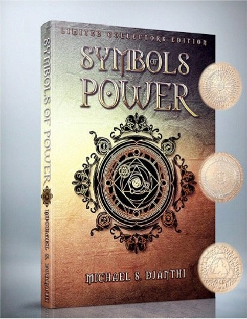 The Symbols of Power book reveals for the first time the very energy patterns that emanate from the sun which sustain and balance all life and consciousness in the solar system.  These powerful patterns emanate light of many different varieties and are capable of creating miraculous changes in consciousness, diminishing the force of death, aging, illness, anxiety, and other destructive forces which affect our lives.