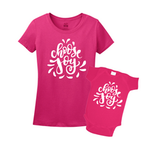 Mommy & Me Pink Set - Choose Joy