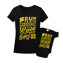 Mommy & Me Black/Yellow Set - Endurance