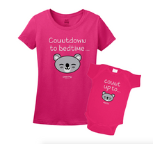 Mommy & Me Pink Set - Bedtime Countdown