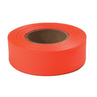 "1"" x 200' Orange Flagging Tape"