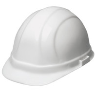 6pt Ratchet White Hard Hat
