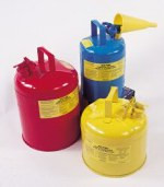5 Gallon Type 1 Yellow Safety Can w/ Funnel