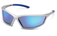 4x4 Sport Blue Mirror Safety Glasses