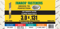 """3"""" Clipped Head Paper Collated Nails - Framing"""