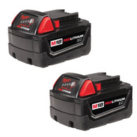 M18 REDLITHIUM™ High Capacity Battery Two Pack 5.0