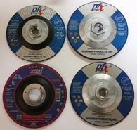 "4 1/2 x 1/4 x 5/8""-11 T-27 Depressed Center Grinding Wheel"