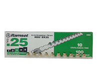 .25 Cal Green Strip Fastener Load (100/Box)