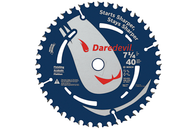 "7 1/4"" 40T Daredevil™ Portable Saw Blade for Finishing"