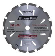 """Tenryu 12"""" x 8T Board-Pro Fiber Cement Blade"""