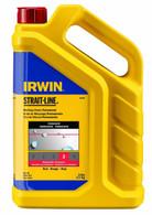 Irwin STRAIT-LINE Standard Marking Chalk, 5-pound, Red