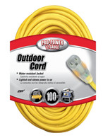 12-3 100' Lighted Extension Cord (Call for bulk pricing*)