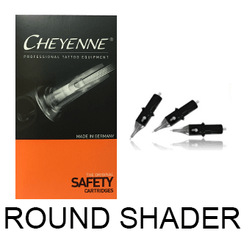 CHEYENNE HAWK Needle Cartridges - Round Shader