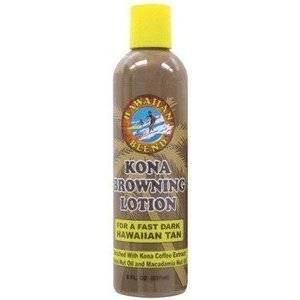 Hawaiian Blend Kona Browning Tanning Lotion 8oz