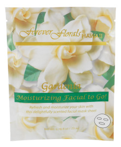 Forever Florals Hawaii Gardenia Facial Face Mask 0.78oz