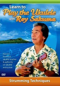 DVD - Learn to Play the Ukulele with Roy Sakuma