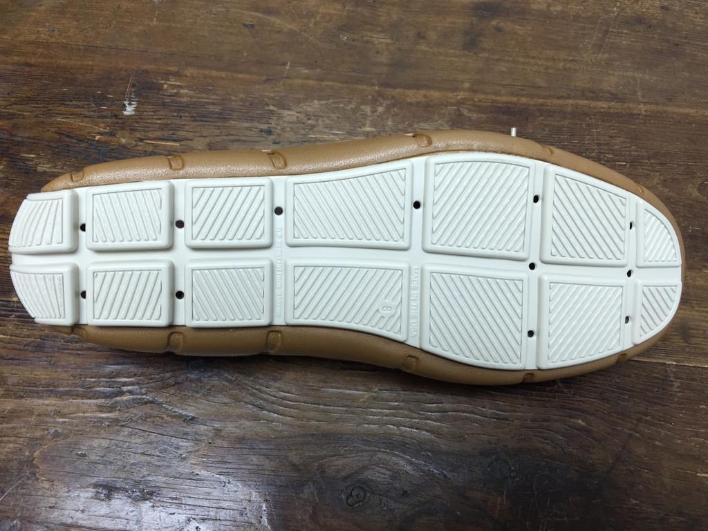 Cognac & Vanilla Deck Shoe