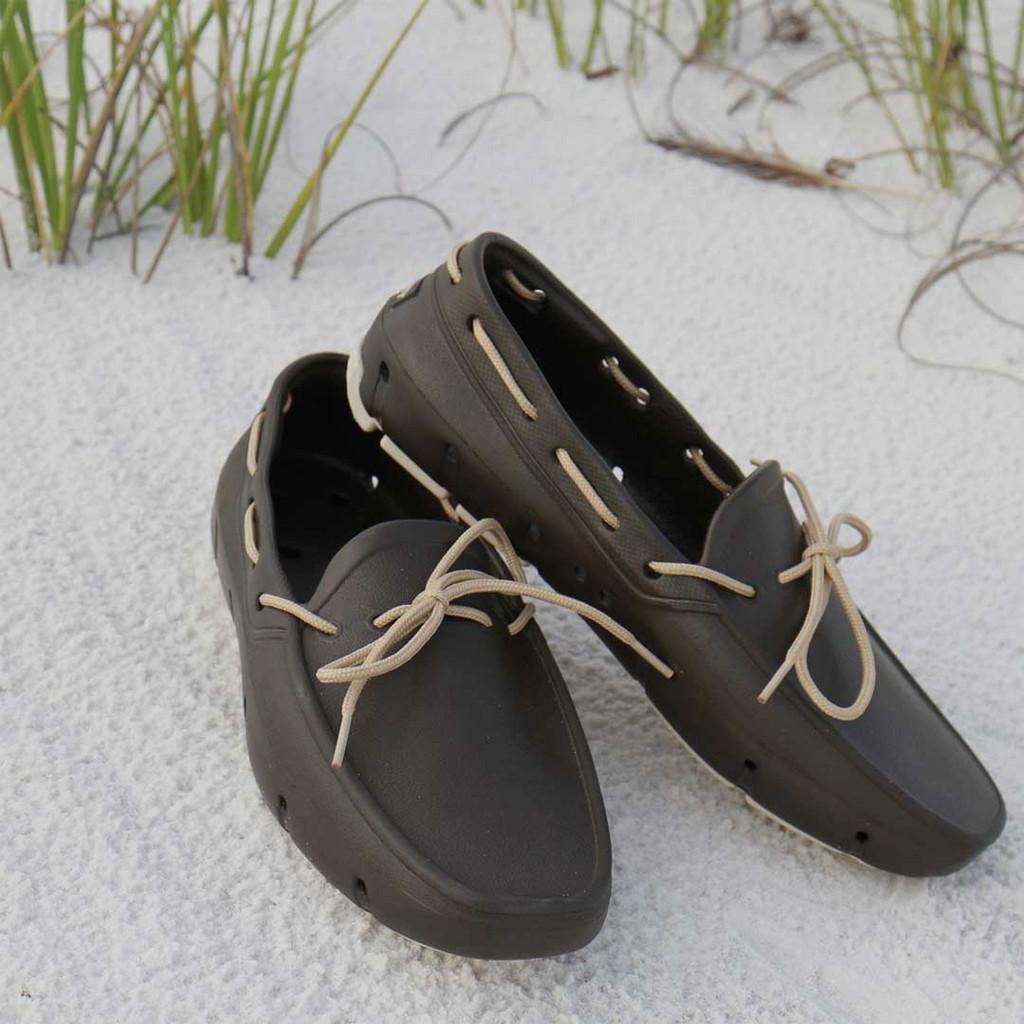 Brown & Vanilla  Deck Shoe