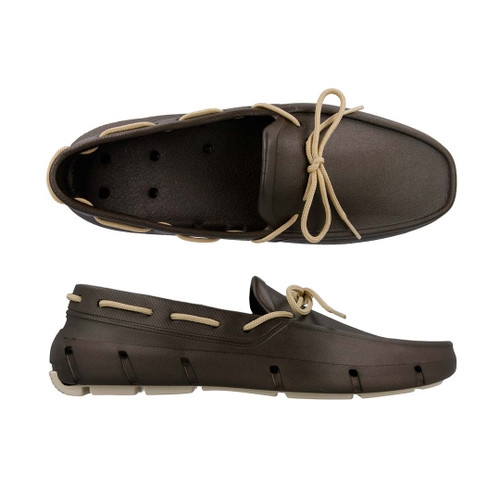 Brown & Vanilla  Deck Shoe
