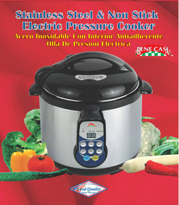 6L Stainless Steel Non-Stick Electric Pressure Cooker