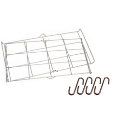 "Double Rack Set (includes 4 ""S"" hooks)"