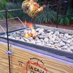Battery Powered Rotisserie Kit (Caja China not Included) - Latin Touch