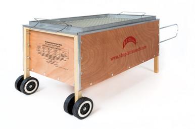 Caja China Style Roaster 100 lb. (front angle)