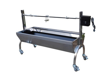 Stainless Steel Rotisserie 80 lbs (Angle) - Latin Touch