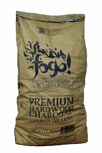 Fogo premium hardwood charcoal 35 lb bag