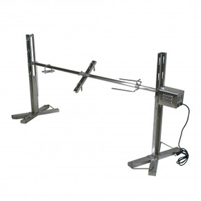 Stainless Steel Stand for Rotisserie Grilling (90 lbs) - Latin Touch