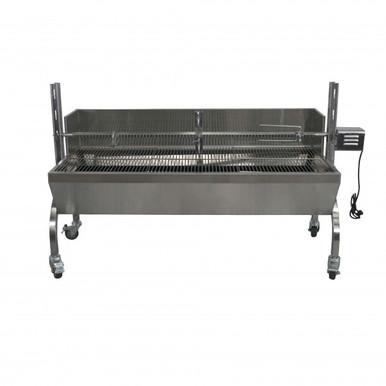 13-Watt Stainless Steel Rotisserie Grill - Latin Touch