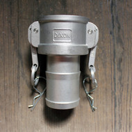 "C125 1-1/4"" Stainless Steel Camlock 
