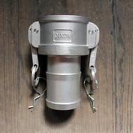 "C125 1-1/4"" Stainless Steel Camlock | Jamieson Machine Industrial Supply Company"