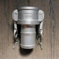"C200 2"" Stainless Steel Camlock   Jamieson Machine Industrial Supply Company"