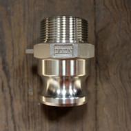 "F100 1"" Stainless Steel Camlock   Jamieson Machine Industrial Supply Company"