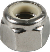 1/4-20 Stainless Nylon Lock Nut (100 Count) | Jamieson Machine Industrial Supply Company