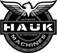 Hauk Machines Shield Decals